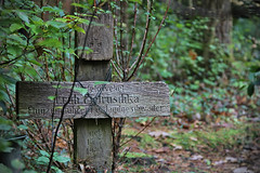 Kreuz WW2 - cross grave (SchuhSchone) Tags: verlasseneorte lostplaces verlassen leave spuk spook alt old geist geister ruine ruin