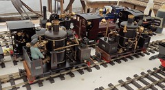 Vertical boiler locos (Phil_Parker) Tags: modelrailway train