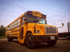 Jackson-Milton Local Schools Bus 1 | 2001 Thomas Freightliner FS-65 (WhittyCar) Tags: schoolbus