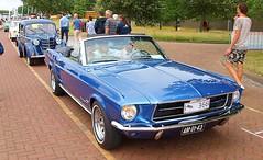 1967 Ford Mustang Convertible (Vriendelijkheid kost geen geld) Tags: nationale oldtimerdag lelystad 2018