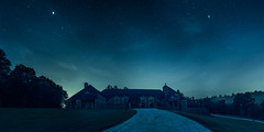 The animal sanctuary (Lux Obscura) Tags: castle blue night architecture jupiter planet starry misty dream hope themoralofthisstory nature lowlight