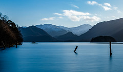 Derwent Water (patrica.evans3) Tags: lake district water view blue hills mountains seascape landscape