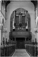 St Michaels Church organ pipes Framingham (David Baldock Photography) Tags: pipes organ church eos5d canon blackandwhite