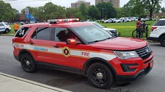 Battalion 4 (Central Ohio Emergency Response) Tags: columbus ohio fire division truck battalion chief ford suv