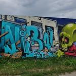 Graffiti La Rochelle, Aytré, mur DBMA thumbnail