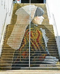 133StaircaseInTobaccoFactory (geomappingunit) Tags: brittany 2018 fieldtrip geography tabac tobaccofactory staircase art