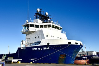 REM Mistral - Aberdeen Harbour Scotland 30/6/2018
