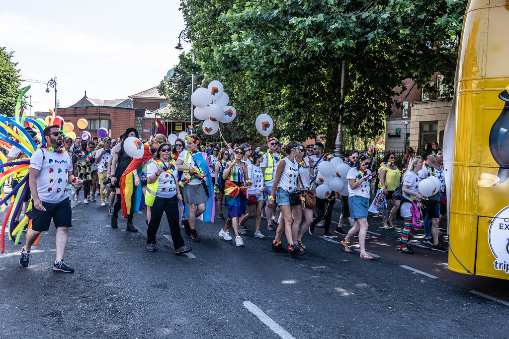 ABOUT SIXTY THOUSAND TOOK PART IN THE DUBLIN LGBTI+ PARADE TODAY[ SATURDAY 30 JUNE 2018] X-100132