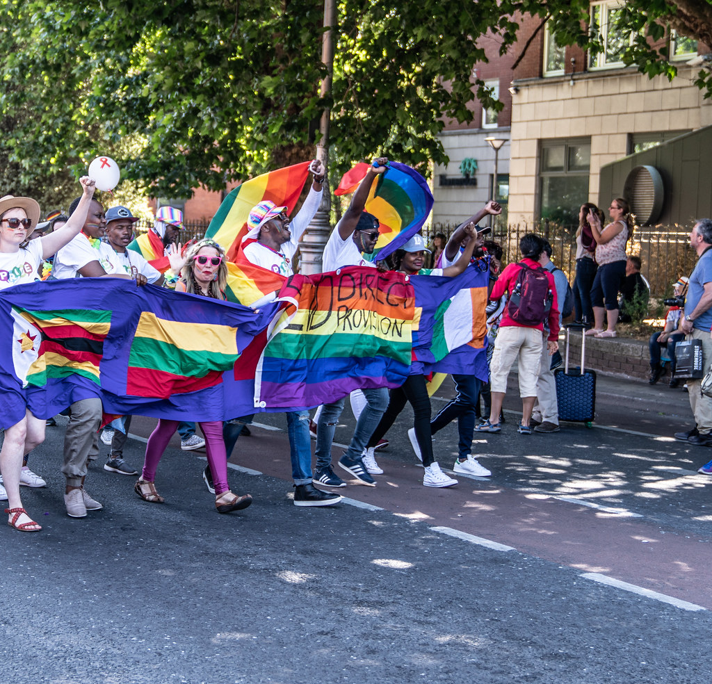ABOUT SIXTY THOUSAND TOOK PART IN THE DUBLIN LGBTI+ PARADE TODAY[ SATURDAY 30 JUNE 2018] X-100160