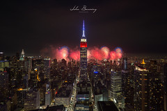 10 Fingers (johnbacaring) Tags: independenceday 4thofjuly fireworks nyc empirestatebuilding newyorkcity