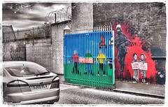 West Belfast - The murals (tatianalovera) Tags: northernireland ulster ireland city streetart murales belfast