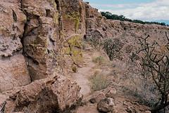 Puye Cliffs (bingley0522) Tags: leicam3 zeissplanar50mmf20 ektar100 puyecliffs santaclarapueblo cliffdwellings pueblopeople newmexico autaut