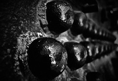 Verbindungen - Connections (Bernd Kretzer) Tags: niete rivet dampflokomotive steam engine
