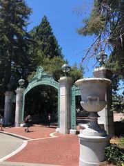 Sather Gate (Melinda Stuart) Tags: gate historic berkeley uc entry sathergate campus university students landscape california