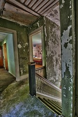 Inside An Abandoned WWII Army Surgeon's House (14) (Darryl W. Moran Photography) Tags: urbex urbanexploration urbandecay abandonedanddecaying abandonedsurgeonshome leftbehind forgottenpast frozenintime darktouristphotography