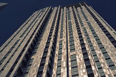 Vertigo (tcees) Tags: cityroad london ec1 urban x100 fujifilm finepix building architecture windows patterns lines sky wall abstract window skyscraper