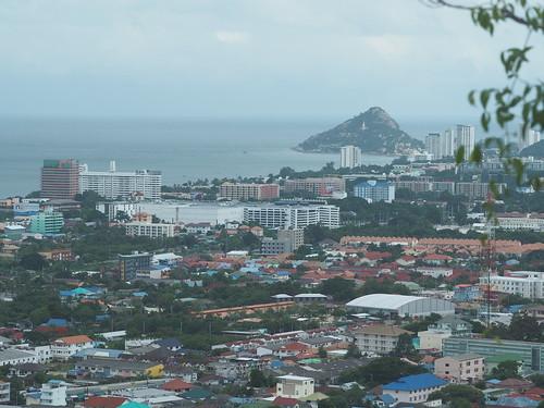 View of Hua Hin From Khao Hin Lek Fai
