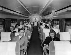CB&Q Coach Interior (Chuck Zeiler) Tags: cbq coach interior burlington railroad passenger car chicago train chz