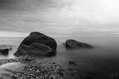 Atlantic Ocean (corineouellet) Tags: oceanview sea ocean landscapeview landscape naturelover nature quebec matane canada canoncanada canonphoto longueexposition canon noiretblanc blackandwhite bnw longexposure longexpo