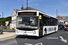 Go Ahead East Yorkshire 385, YX14HDZ. (EYBusman) Tags: go ahead east yorkshire north bus coach eyms hull park ride prospect street bridlington town centre mcv evolution sterling volvo b8rle alan white yx14hdz eybusman