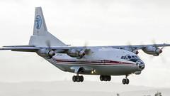 URCAH An-12 Ukraine Air Alliance (Anhedral) Tags: urcah antonov an12 an12bk ukraineairalliance transport turboprop freighter soviet landing shannonairport einn snn