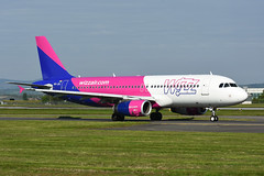 HA-LWJ Airbus A320-232 EGPF 19-05-18 (MarkP51) Tags: halwj airbus a320 wizzair w6 wzz glasgow airport gla egpf scotland aviation aircraft airplane plane image markp51 nikon d7200 sunshine sunny aviationphotography