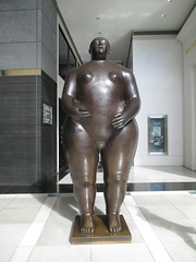 Tall Lady Woman Sculpture by Botero 2018 NYC 3592 (Brechtbug) Tags: woman sculpture by fernando botero colombian artist metal bronze nude female art sculptures front glassed lobby time warner building columbus circle thinker thinking wings nudes architecture statues statue gargoyle gargoyles new york city broadway store shopping center mall heavy zaftig puffy hefty big boned sturdy tall 2018 nyc 06152018 lady portrait