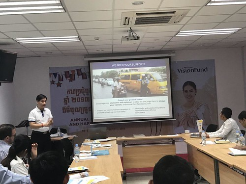 Cambodia Country Director advocates for garment worker road safety