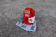 Nuka Cola Vending Machine (spud_the_viking) Tags: lego minifigs minifigures nuka cola moc fallout