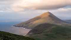 Slievemore (mickreynolds) Tags: 2018 achill comayo hike ireland mreynolds nx500 wildatlanticway slievemore mountain sea atlantic deserted village