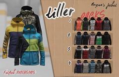Tiller - TMD July Round! (tiller.sl) Tags: tiller tmd jacket ad second life sl secondlife hoodie game games videogames mask bat