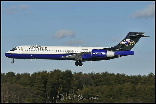 "N946AT  AirTran Airways ""Baltimore Ravens"""