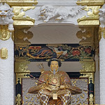 Gardien de la porte Yomei-mon du sanctuaire shinto Toshogu de Nikko (Japon) thumbnail