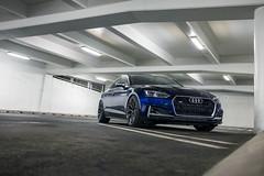 2018 Audi S5 Sportback (Rob Overcash Photography) Tags: audi b9 s5 sq5 matadorred navarrablue vossen forged