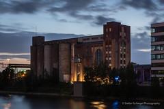 Medienhafen Düsseldorf (Stefan Schlegel Photography) Tags: medienhafen düsseldrf nachtfotografie lightpainting nightshoots sony sony77ii