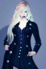 Shadowhunter (heidi.rewell) Tags: theskinnery fashion akakeruka exxess semotion wicca'swardrobe secondlife maitreya