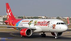 9H-NEO LMML 01-07-2018 (Burmarrad (Mark) Camenzuli Thank you for the 12.5) Tags: airline air malta aircraft airbus a320251n registration 9hneo cn 7875 lmml 01072018
