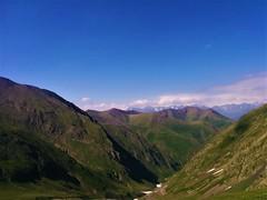Abano Pass (Tako Khinchakadze) Tags: abanopass tusheti mountains nature view beautiful landscape georgia sky blue green