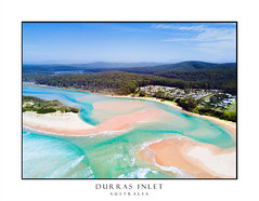 Idyllic beaches of Durras Australia (sugarbellaleah) Tags: aerial scene beach coast idyllic paradise seaside sand ocean waves travel vacation resort holiday summer sunshine sandbar inlet river seascape landscape scenic pretty beautiful hills water pristine aqua blue surf southcoast australia nsw durras drone leisure swim recreation amazing relax unwind durrasnorth newsouthwales au