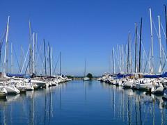 Chicago, IL harbor (army.arch) Tags: chicago illinois il sailboats harbor lakemichigan lake