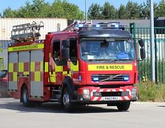 KN62 RHJ (Ben Hopson) Tags: county durham darlington fire rescue service cddfrs 999 volvo fl appliance pump ladder stanhope station d07 d07p1 2012 ibac 2018 kn62 rhj kn62rhj