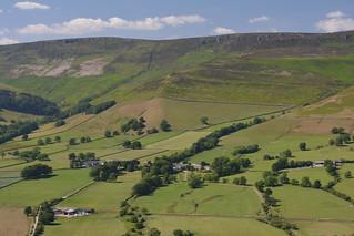 Nether Ollerbrook, Peak District National Park, Derbyshire, England.