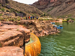 Pumpkin Spring, Grand Canyon (Nate Loper - #ArizonaGuide) Tags: grandcanyonnationalpark grandcanyon coloradoriver pumpkinspring hot springs colorado river rafting cliff jumping canyon trip whitewater arizona nationalpark grandcanyonriver water rapids geology rock layers havasupai hualapai navajo southwest natgeo royaltyfree freetouse landscape photography editorial desert seetheworld getoutside guidelife arizonaguide
