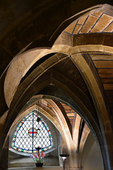 The Vaulted Crypt (Chrispics Photography) Tags: church minster dorset crypt