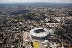 New Tottenham Stadium (Blackwhite1903) Tags: tottenham london soccer football sport stadium venue construction progress project development engineering drone aerial airview building landscape view city
