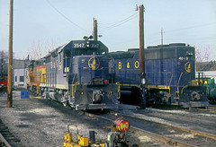 B&O GP35 3547 (Chuck Zeiler) Tags: bo gp35 3547 gp40 4019 railroad emd locomotive akron train chuckzeiler chz
