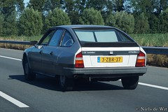 1987 Citroën CX 20 RE Leader (NielsdeWit) Tags: nielsdewit car vehicle actiemodel striping citroën cx 20 re cx20re 20re leader a12 highway driving 3zbr37
