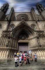 """... """"El tamaño de tu éxito será del tamaño de tu esfuerzo. Francisco de Miranda (franma65) Tags: barcelona santamariadelmar basilica arquitectura born"""