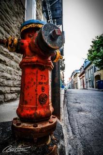 Standpipe in Old Québec