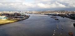 Above  River Thames (Helenɑ) Tags: riverthames london uk river emiratesgreenwich greenwich
